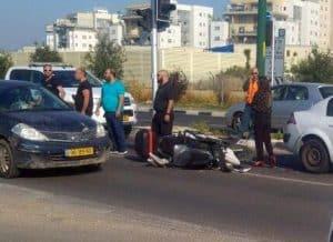 תאונה ראשון בבוקר