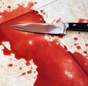 סכין דם שש דקירות סכין בגופו של אנביה (צילום: אילוסטרציה)
